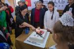 торт в честь 10-летия иайдо в Кыргызстане